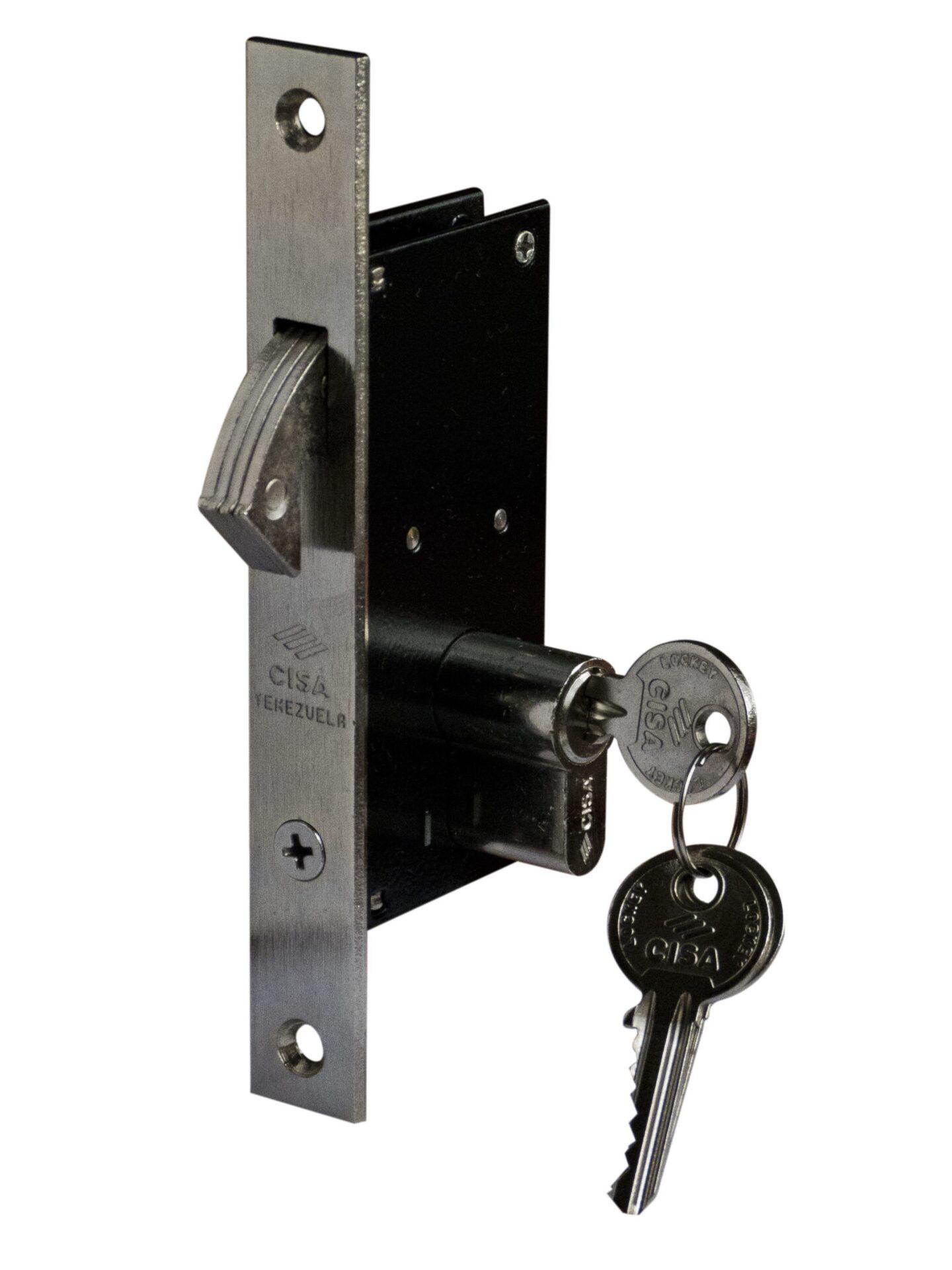 Cerradura de Gancho Cilindro Doble 30 mm