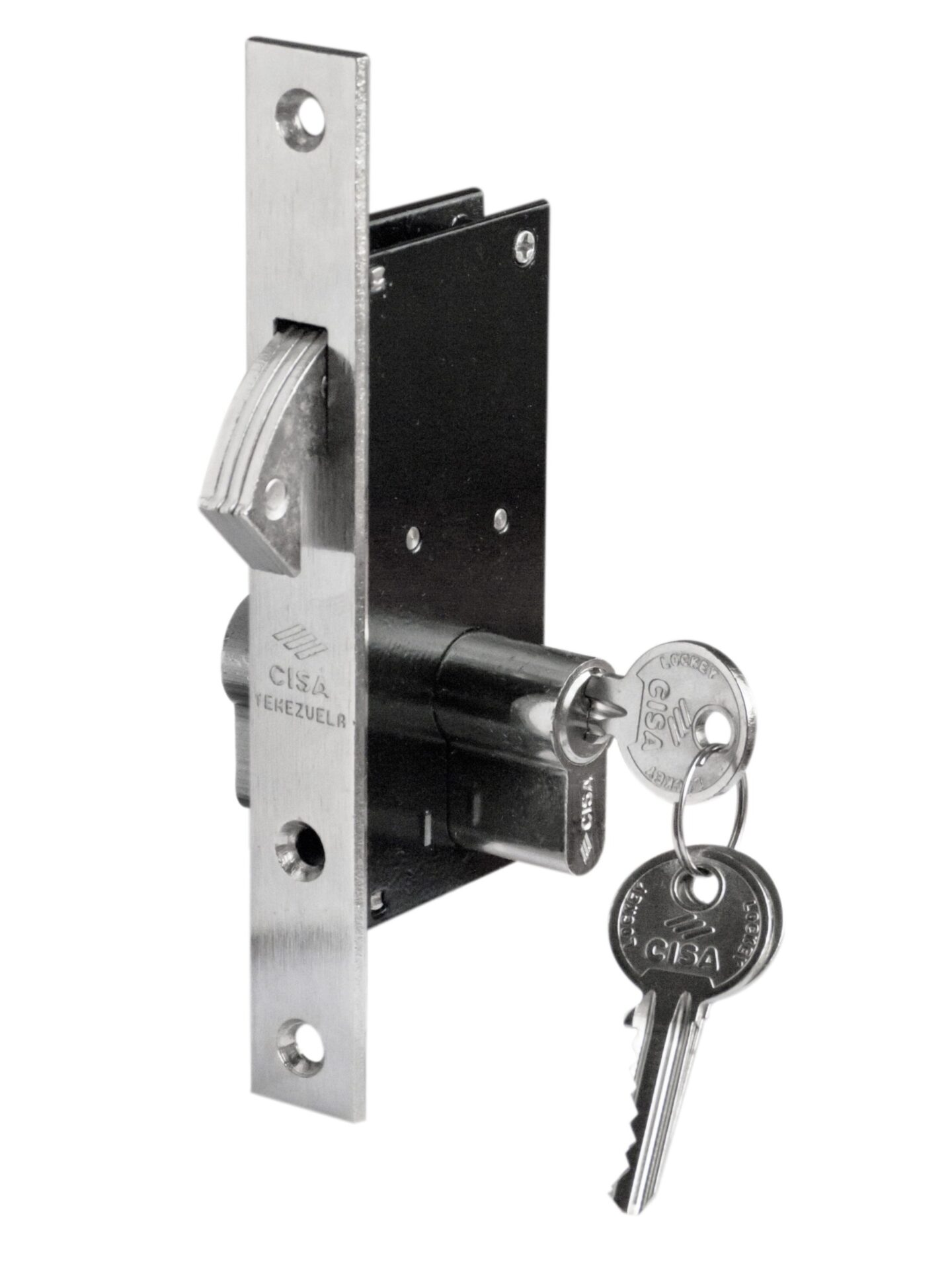 Hook Mortise Keyed Door Lock 30 mm or 1-1/4 (with Double Cylinder)