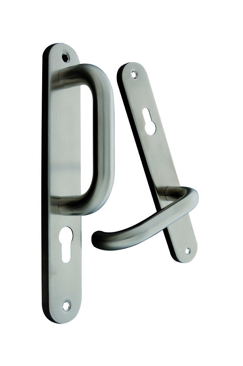 Stainless Steel Fixed/Movable Europrofile Lever 3481