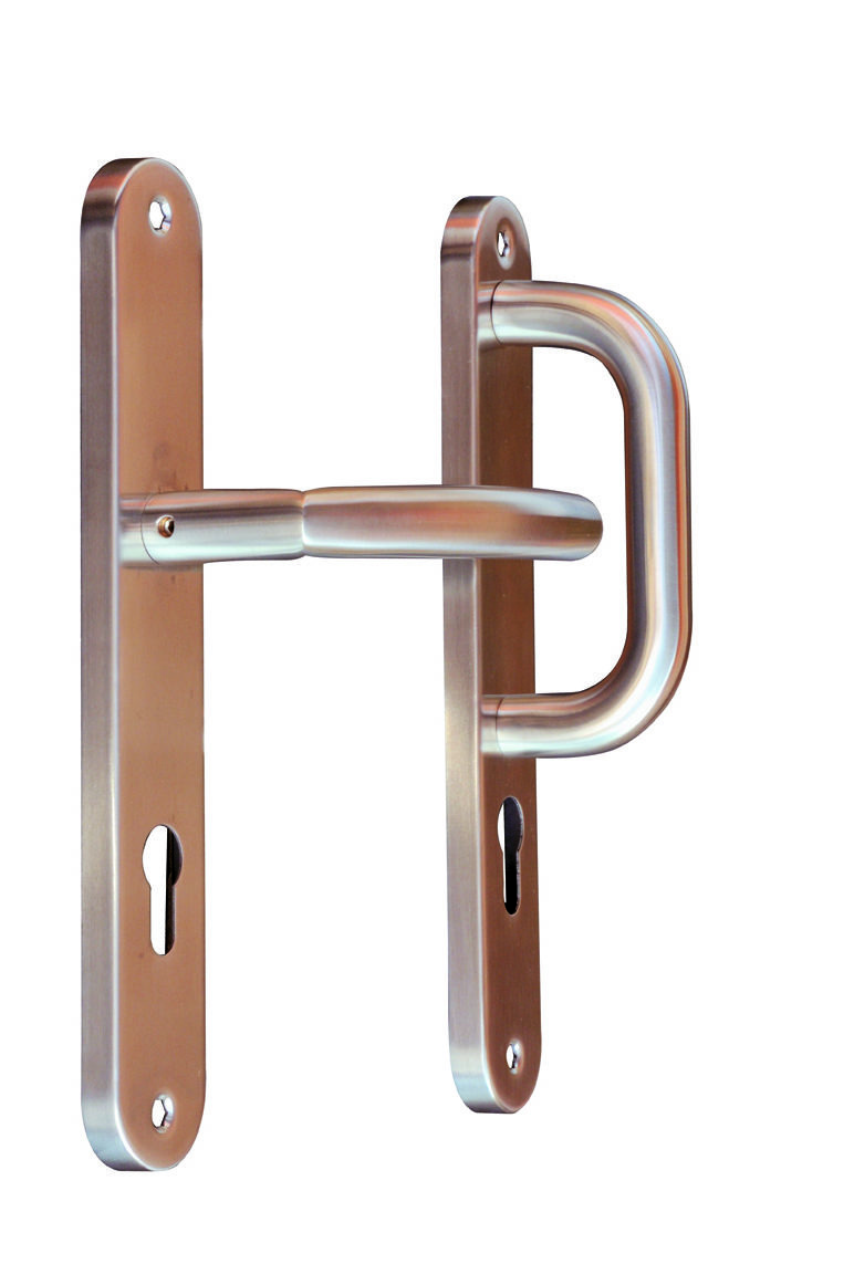 Stainless Steel Fixed/Movable Europrofile Lever 3546