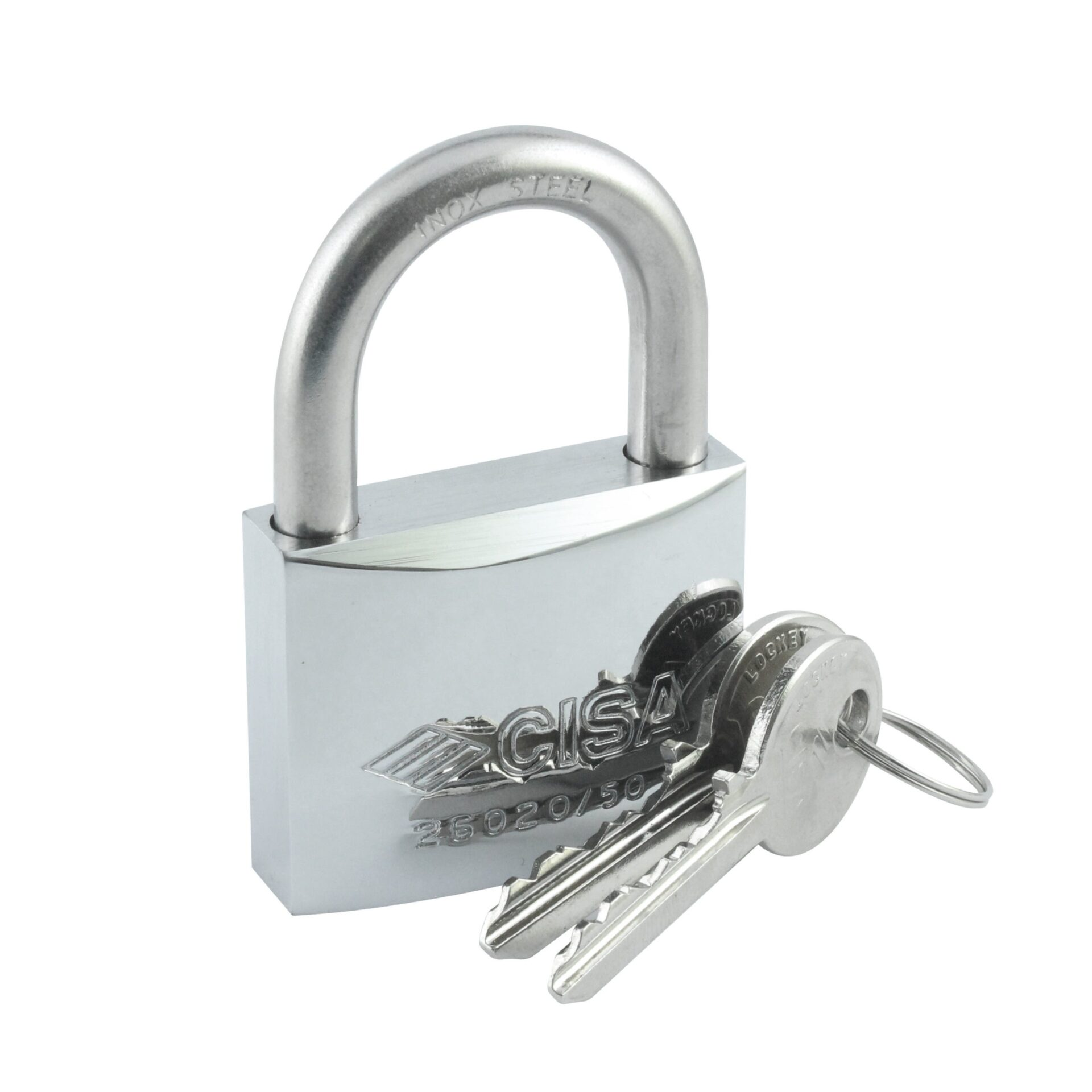 Heavy Duty Weatherproof Shackle Chromed Padlock 1-31/32″ (50 mm)