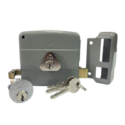 High Security Deadbolt Double Cylinder Rim Lock- (Right-Handed)