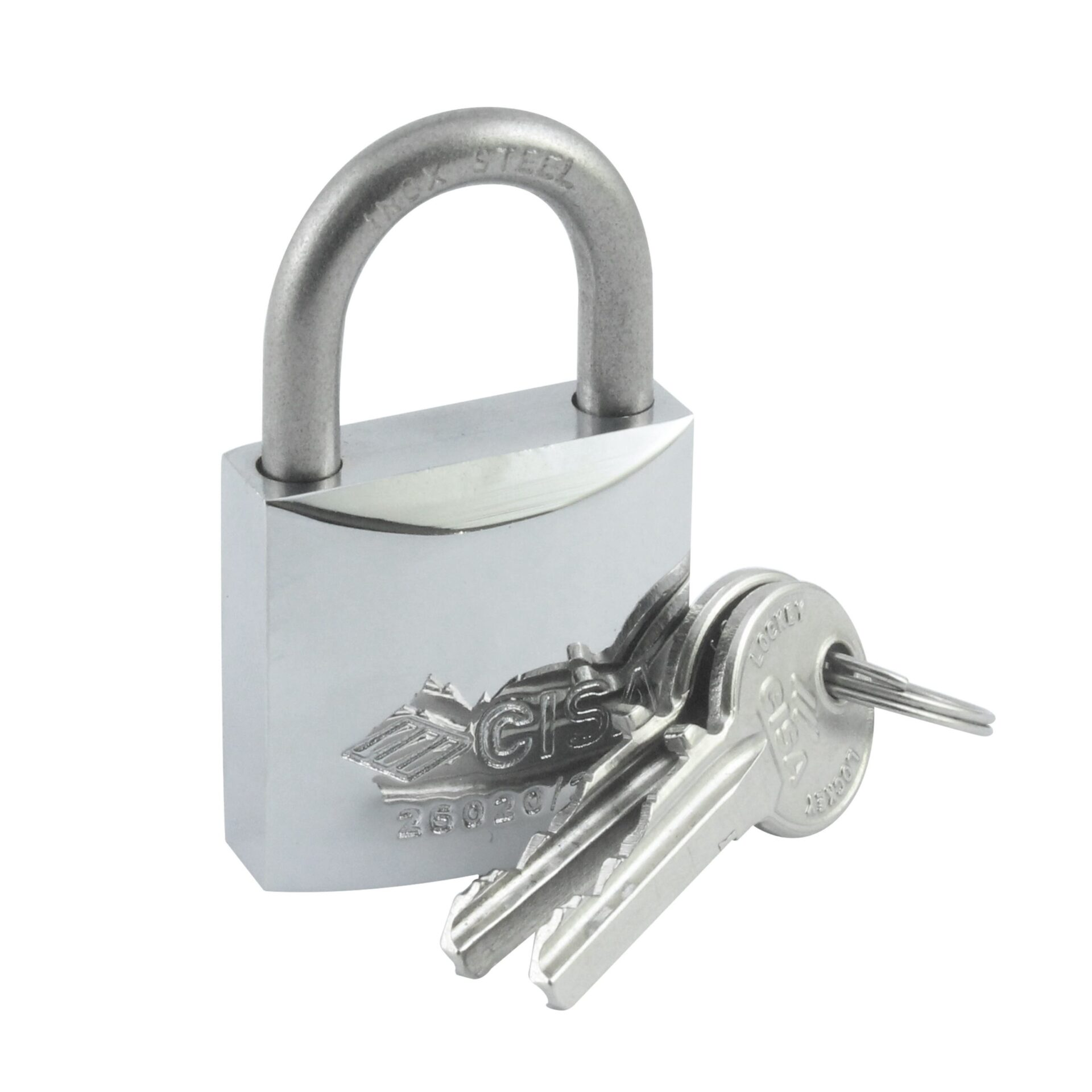 Heavy Duty Weatherproof Shackle Chromed Padlock 1-3/16″ (30 mm)