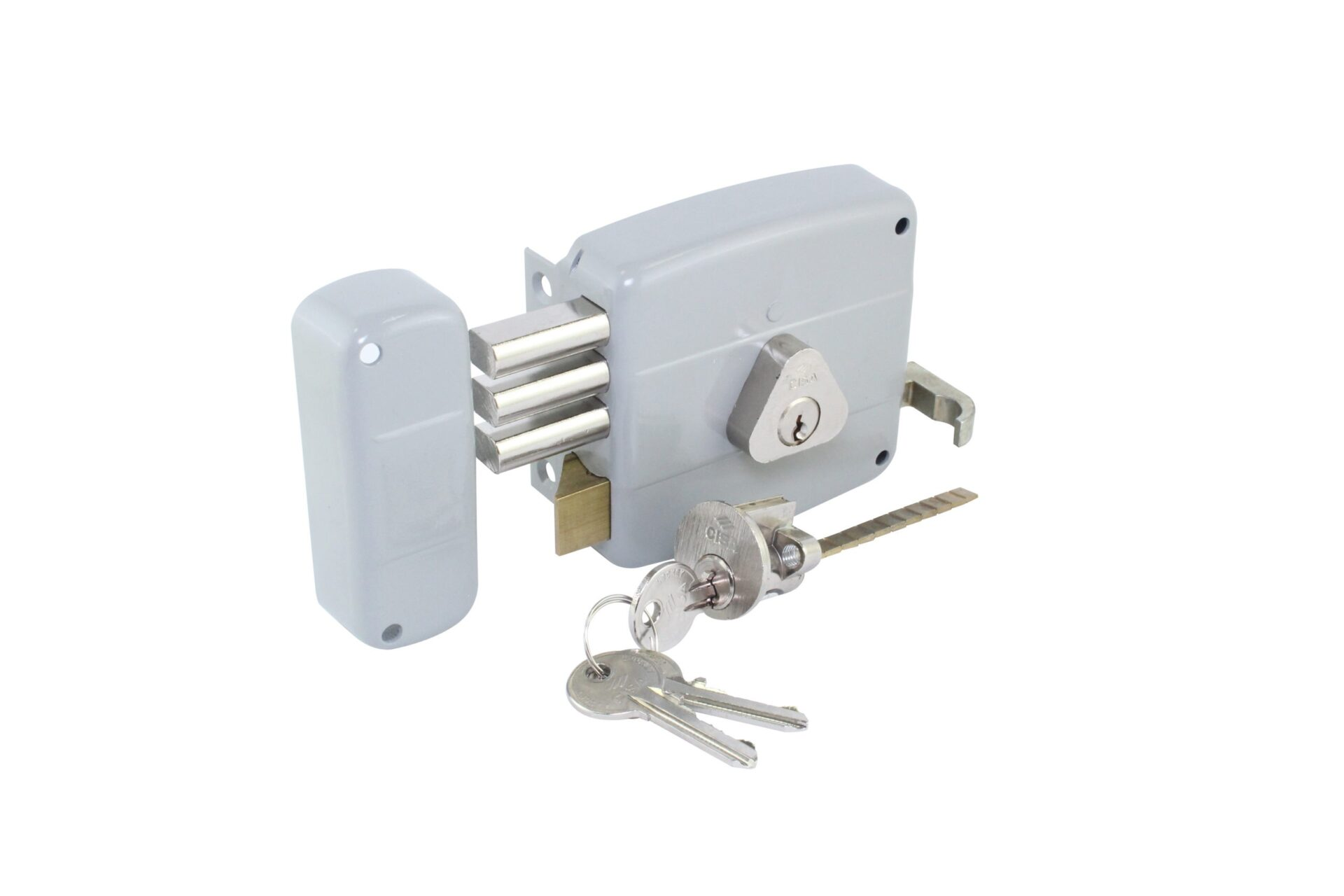 High Security Deadbolt Double Cylinder Rim Lock- (Left-Handed)